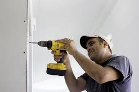 how to shim behind drywall with