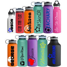 Name Decal Personalized For Hydro Flask From Customhydroflasks On