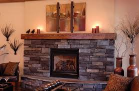 rustic wood burning stove ideas