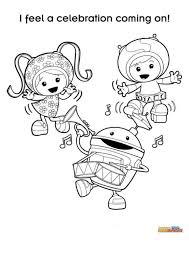 Kleurplaat Van Team Umizoomi Team Umizoomi Op Kids N Fun Nl