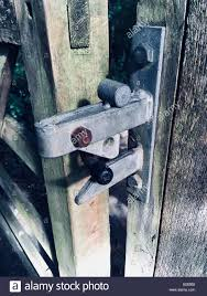 Gate Latch High Resolution Stock Photography And Images Alamy