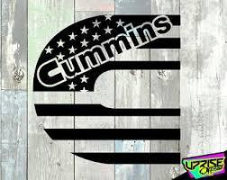 Cummins Decals Etsy