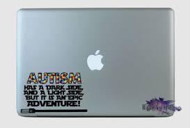 Autism Is An Epic Adventure Star Wars Inspired Vinyl Decal Sticker