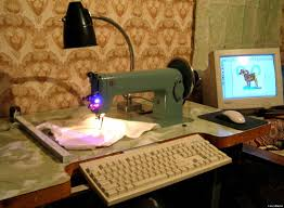 puterized embroidery machine