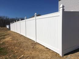 6 Foot Vinyl Privacy Fence In Sandston Va Fence Scapes Llc