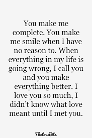 thank you quotes for him thank you boyfriend quotes