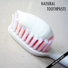 natural toothpaste recipes