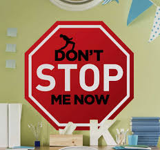 Freddie Mercurie Don T Stop Pop Music Decal Tenstickers