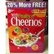 general mills fruity cheerios calories