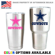 Nfl Dallas Cowboys Football Yeti Rambler Vinyl Decal