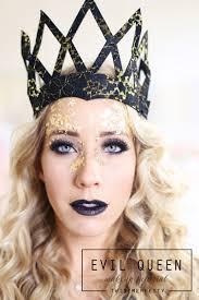 evil queen makeup hair tutorial