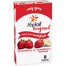 yoplait yogurt variety pack 48 oz 8