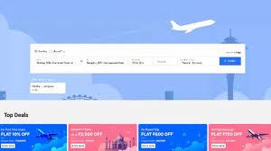 book domestic and international flights