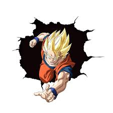 Three Ratels Gohan Anime 3d Dragon Ball Z Super Stickers Laptop Anime Japanese Anime Wall Sticker Decals Car Stickers Wall Stickers Aliexpress