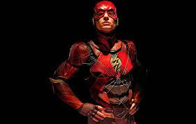 justice league flash ezra