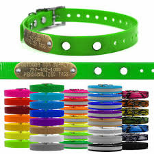 3 4 Petstop Replacement Underground Dog Fence Collar Strap Custom Name Tag Ebay