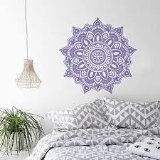Mandala Flower Indian Wall Decal Instyle Walls Llc