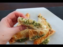 puff pastry with feta cheese