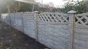 Fence Fencing Panels Gravel Boards Heavy Duty Concrete Post Decorative Lattice 39 99 Picclick Uk