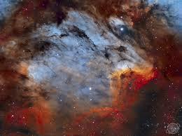 Septiembre 25, 2019. La Nebulosa Pelícano en Gas, Polvo y ...