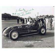 Duane Carter competed in eleven Indy 500 races including eight races during  the F1 era. In 1953 his car #4 wa…   Vintage race car, Classic race cars,  Indy roadster