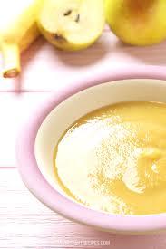 instant pot banana pear baby food