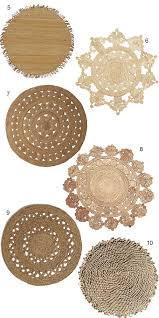get the look 16 round jute rugs with