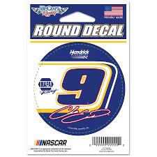 Chase Elliott Wincraft 3 Round Decal Sticker