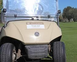 Golf Cart Decals Custom Golf Cart Signs