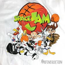 Space Jam Shirts Looney Tunes White Button Down Jersey Poshmark