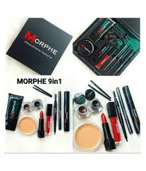 morphe makeup kit 250 gm pack of 9