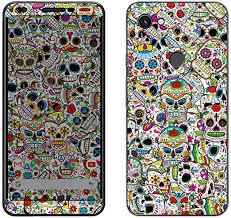 Amazon Com Decalrus Protective Decal Skull Skin Sticker For Google Pixel 3a Xl Cellphone Case Cover Wrap Gopixel3a Xl 67
