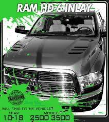 Stamps 6 Inlay Decals 2010 2018 Dodge Ram Truck Hood Stripes 2500 3500 Decals Graphics 3m Vinyl Decal Kit Truck Decals Custom Graphics For Muscle Cars Elite Limit