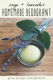 homemade deodorant recipe with lavender