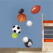 Sports Balls Wall Decal Sports Decor Boys Bedroom Wall Art Balls Remov American Wall Designs