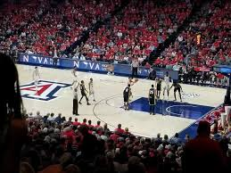 mckale center section mi 12 row 29