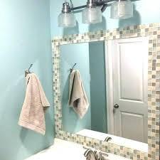 mosaic tile mirror frame