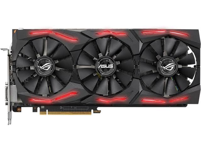 Image result for Asus Radeon RX Vega 64 8GB Overclocked 2048-Bit HBM2 PCI Express 3.0 HDCP Ready Video Card (STRIX-RXVEGA64-O8G-Gaming)