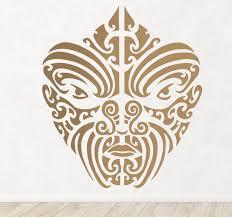 Maori Motifs Wall Sticker Tenstickers