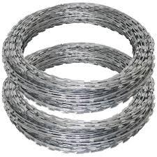 Galvanised Bto 22 Razor Wire 10m Length Kingcats Fence Com