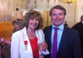 Légion d'honneur d'Yvette Schmidt | Olivier de La Faire