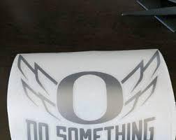 Oregon Ducks Decal Etsy