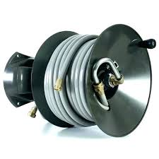 wall mounted water hose reel