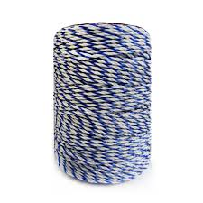 Electric Fence Poly Wire White Blue Polywire With Steel Wire Poly Rope For Horse Fencing Ultra Low Resistance Hot Wire Fencing Poly Wire Fencing Electricelectric Horse Fencing Aliexpress
