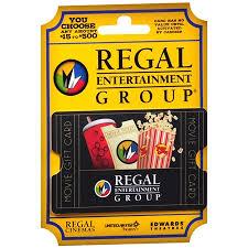 regal theaters non denominational gift