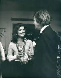 George Plimpton with Jacqueline Kennedy. | Jacqueline kennedy ...