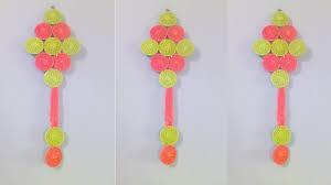 diy wall hanging with bangles