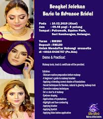 indian bridal makeup course in msia
