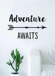Adventure Awaits V16 Wall Decal Sticker Bedroom Room Art Vinyl Beautif Boop Decals