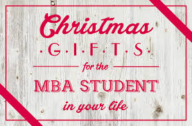 gift ideas for the mba student